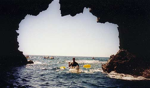 Take a guided tour of the Keauhou sea cave