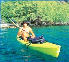 Kona Boy offering kayak tours of Kealakekua Bay